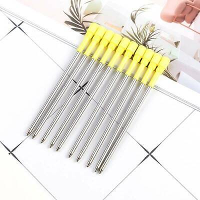 1/5/10X 8.2cm Ballpoint Pen Refills Black Ink for Big Diamond Crystal stylus Pen