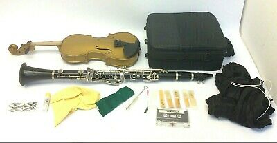 DY Musical Design in USA Black Clarinet Violin Music Instruments Parts