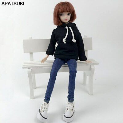 "Fashion Handmade Hoodie For 11.5"" 1/6 Doll Sweatshirt Outfits Doll Clothes Shoes"