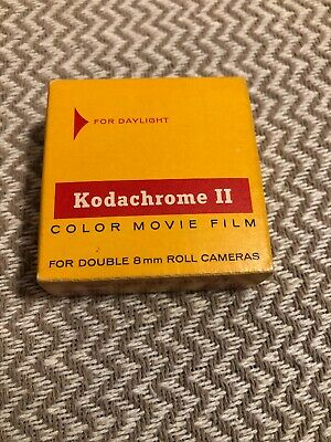 Vintage-1966-KODACHROME II Color Movie Film Double 8mm 25ft Cartridge NEW SEALED