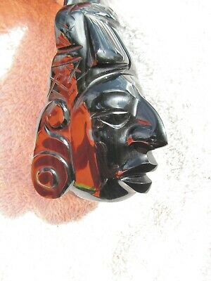 Duality Life & Dead Together Mask Obsidian  Stone  New. **