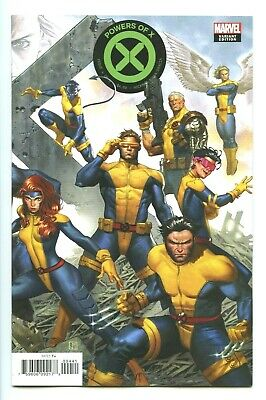 Powers Of X #4 Molina Connecting Variant 2019 Marvel Hickman First Print NM