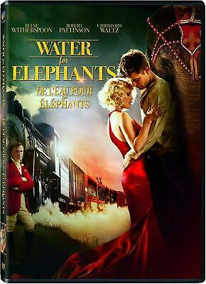 Water For Elephants (DVD, 2011, WS) Reese Witherspoon,  Christoph Waltz  LN