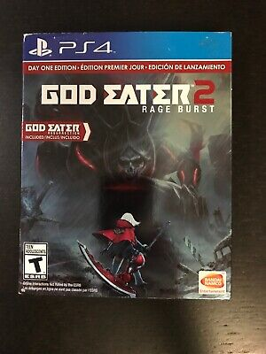 God Eater 2 Rage Burst Day One Edition (Sony PS4) Brand New Factory Sealed