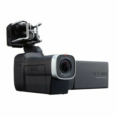 Zoom Q8 2.3K HD Handy Video Recorder with Interchangeable Mic Capsule System