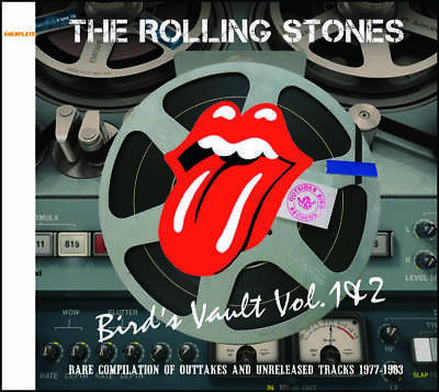 The Rolling Stones Bird's Vault Vol 1 - 2 1977-1983 Outttakes CD 2 Discs Set F/S