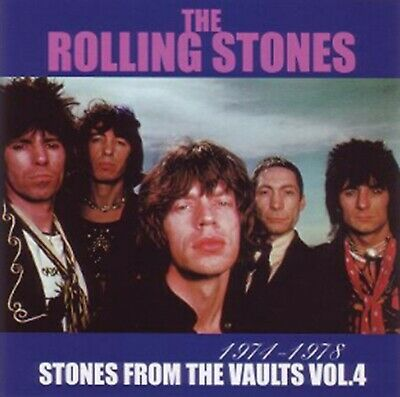 The Rolling Stones From The Vaults Vol 4 CD 2 Discs Set Pops Rock Music F/S