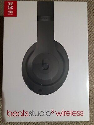 BRAND NEW SEALED Beats by Dr. Dre Studio3 Wireless Over-Ear Headphones - Gray
