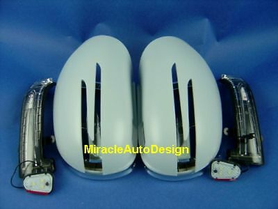Mercedes W251 05~08 R-Class WHITE Arrow Type LED Side Mirror Cover R300//350//500