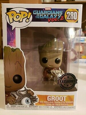 Funko POP Marvel Guardians of the Galaxy Vol.2 GROOT #280 Exclusive