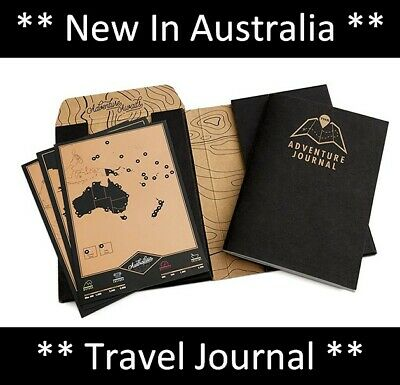 Compact Scratch Map Adventure Journal Travel Book For Travellers BackPackers