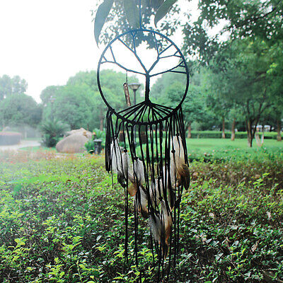 "28"" Tree of Life Net Bead Feather Hanging Dreamcatcher Dream Catcher Home Decor"