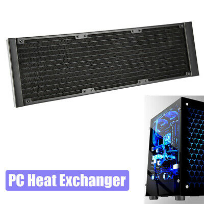 360MM Water Cooling Tube CPU Cooler Row Heat Exchanger Radiator G1/4 for PC