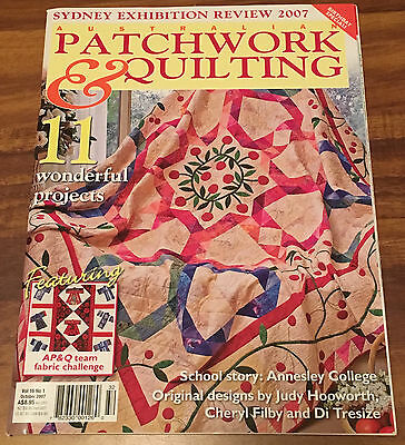 Australian Patchwork and Quilting Vol 16 No 1 - October 2007