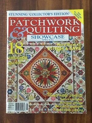 Australian Patchwork and Quilting Vol 17 No 5 - December 2008  Showcase Special