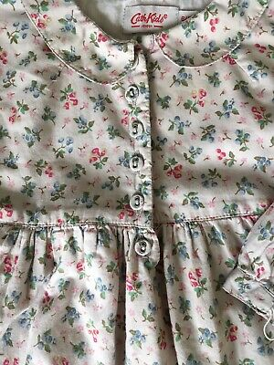 Cath Kidston Kids Girls Floral Dress 6-12 Months Long Sleeved Autumn Traditional