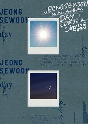 JEONG SEWOON [DAY] 4th Mini Album CD+POSTER+2 Photo Book+2 Card+Pre-Order SEALED