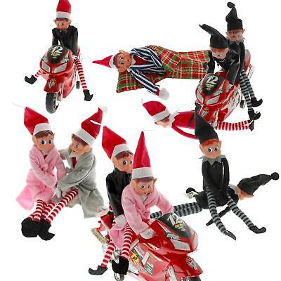 "Elves Behavin Badly 11"" Naughty Elf Sets Accessories Toys Christmas Decorations"