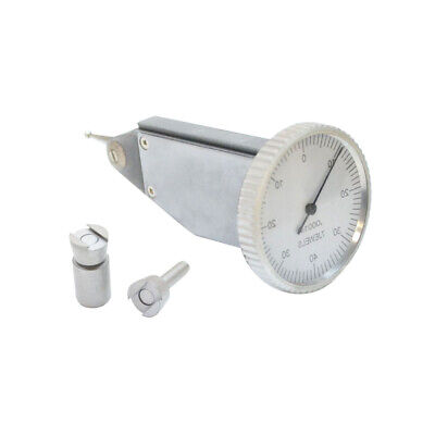 Jewel White Face .008 Inch Dial Test Indicator .0001 Inch Graduation With Case