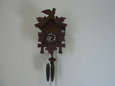 3 Vintage Black Forest Cuckoo Clocks Job Lot  2 Working & 1 With parts to Repair