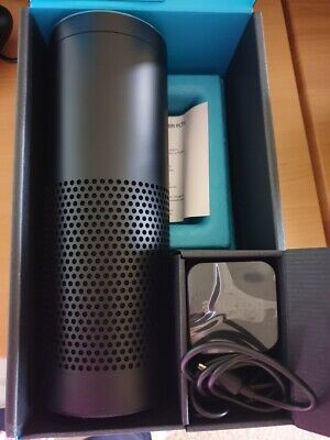 Amazon Echo with Smart Assistant Alexa 1st Generation Black Never Used