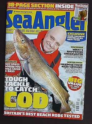 Sea Angler, Issue 448, Inc Boat Angler, Tough Tackle To Catch Cod, Top Bass Spot