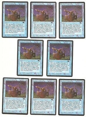 1 PLAYED Reconstruction Blue Antiquities Mtg Magic Common 1x x1