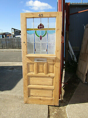 Period Stained Glass Front Door.
