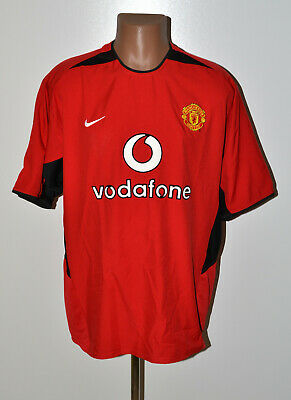 Manchester United 2002/2003/2004 Home Football Shirt Jersey Nike Size Xl Adult