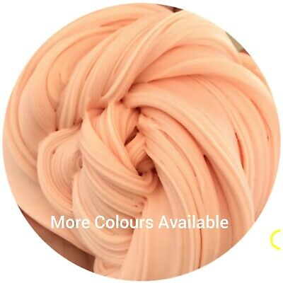 Peach Butter Clay Fluffy Floam Slime Free Activator UK Seller BUY 2 GET 1 FREE