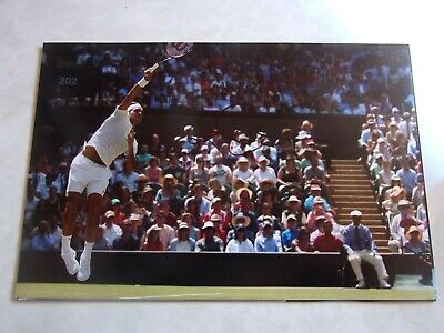 Roger Federer Hand Signed Photo. Coa. Wimbledon.us Open. French Open.