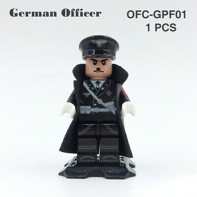 minifigure minifig soldat allemand german soldiers officer figure collection ww2