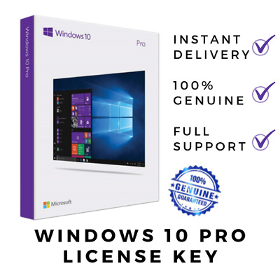 Windows 10 Pro Product Key 32/64 Bit Activation License Code 100% Genuine