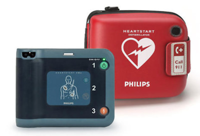 PHILIPS Heartstart FRX OnSite AED~ Recertified, 2 Yr Warranty, Excellent Cond!