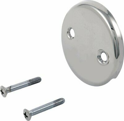 Delta Faucet RP31556 Overflow Plate and Screws, Chrome