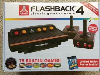 Atari Flashback 4 Classic Game Console: 75 Built-in Games + paddle controllers
