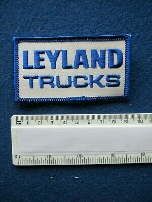 Sew//Stick on  Embroidered Cloth Badge//Patch    1980/'s BEDFORD Trucks