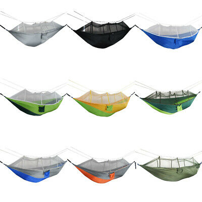 Outdoor Camping Mosquito Net Hammock Tent Beach Double Hanging Bed Swing Chair