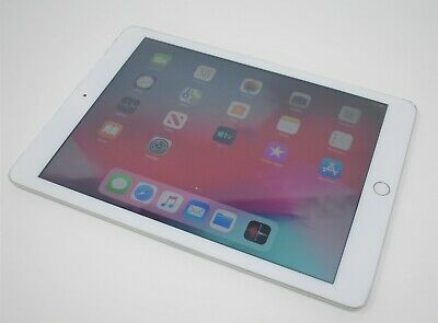 "Apple iPad 9.7"" 6th Generation 32GB -  White Silver (Good Condition No Touch ID)"
