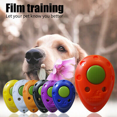 DOG TRAINING Pet Training Clicker Click Teaching Tool Dogs Puppy Obedience