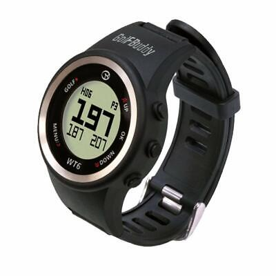 Golf Buddy GB9 WT6 Golf GPS Watch Easy-to-Use GPS Black