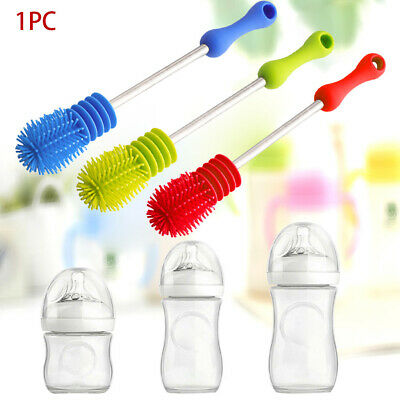 Bottle Brush Large Small Cup Glass Mug Baby Bottle Cleaning Scrubbing Handle
