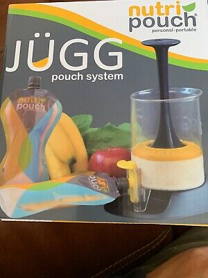Jugg Nutri Pouch System Fill And Squeeze With 2 Reusable Pouches