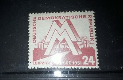 East DDR 1951 Leipzig spring fair unmounted mint stamp