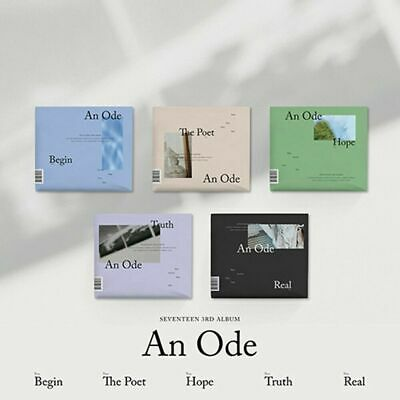 SEVENTEEN 3rd Album (An Ode) CD+Photobook+Mini Book+4p Photocard+Pre-Order+F.Pos