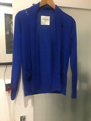 Abercrombie & Fitch Kids Cardigan XL Royal Blue BNWT