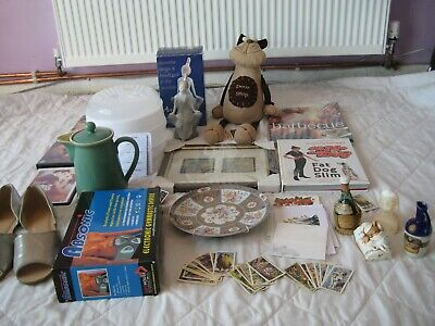 House Clearance Job Lot, Mixed Items, Some Vintage, Some New, Denby, Ornaments