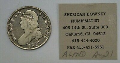1827 CAPPED BUST Half Dollar 50 c. O-111 R-4  Al C. Overton Collection