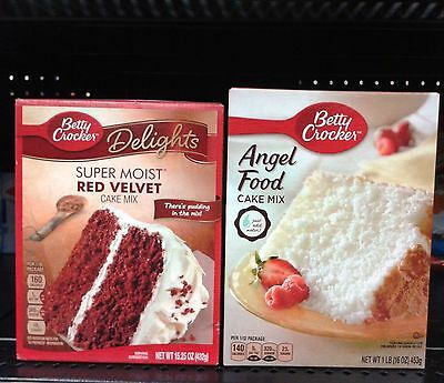 Betty Crocker ~ Delights or Super Moist Cake Mixes – Assort. Varieties