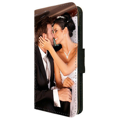 Personalised Wallet Phone Case Cover Custom Photo Picture for iPhone 6 7 8 X XR